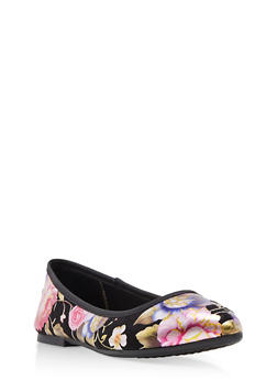 Pointed Toe Skimmer Flats - BLACK FABRIC - 1110004064665