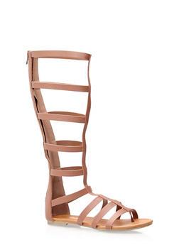 Thong Gladiator Sandals - 1110006512277