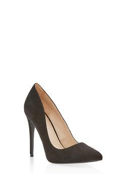 Pointed Toe Stilettos - BLACK F/S - 1111004064424