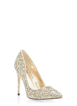 Pointed Toe High Heel Pumps - GOLD - 1111004064425