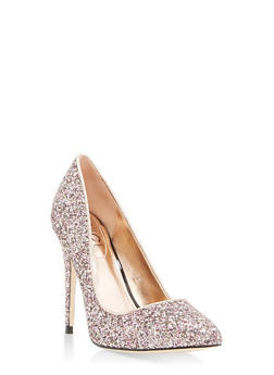 Pointed Toe High Heel Pumps - BLUSH - 1111004064425