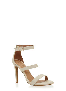 Strappy High Heel Sandals - 1111014067877
