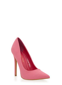 Pointed Toe Pumps - 1111062865464