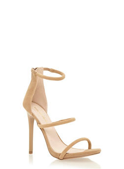 Sandals with Poured Stiletto Heels - 1111062868485
