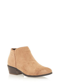 Ankle Boots with Side Seam - TAUPE F/S - 1113073112370