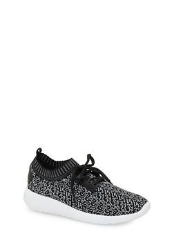 Knit Sneakers - 1114070407354