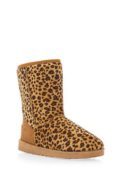 Sherpa Lined Boots - 1116065464245