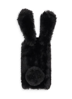 Fuzzy Bunny Ears iPhone 6 Case - BLACK - 1120067448003