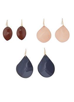 Tear Drop Earrings - 1122003200242
