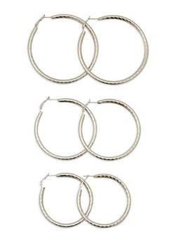 Metallic Tube Earrings - 1122062921567