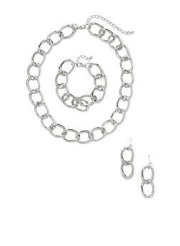 Chainlink Jewelry Set - 1123057697055