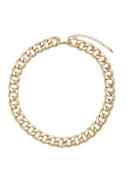 Curb Chain Necklace - 1123059635425