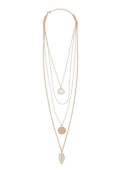 Set of 4 Pendant Necklaces - 1123062925720