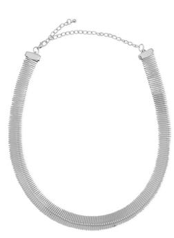 Coil Choker Necklace - 1123072695309