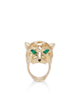 Metallic Jaguar Ring - 1123074171801
