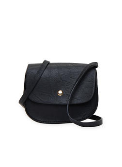 Small Crossbody Bag in Faux Leather - 1124041650003