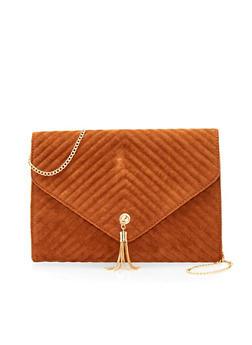 Shoulder Bag with Chainlink Strap - 1124041650319