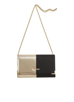 Convertible Crossbody Bag in Faux Leather - 1124041657554
