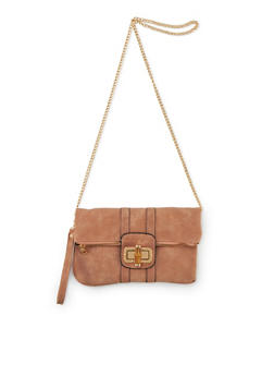 Foldover Bag with Removable Strap - 1124061594890