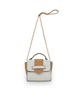 Mini Color Block Crossbody Handbag - 1124061595990