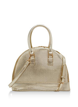 Embossed Double Zip Bowling Bag - 1124067441207