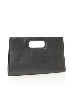 Large Cutout Handle Clutch - 1124067446024