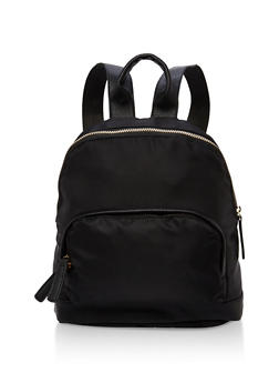Small Double Zip Backpack - 1124067448004