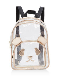 Clear Panda Backpack - 1124073401614