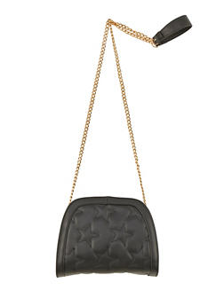 Star Quilted Crossbody Bag - 1124073408900