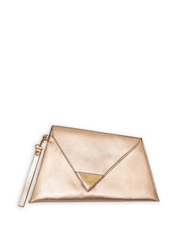 Asymmetrical Triangle Clutch - 1124073895690