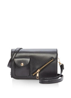 Small Zip Front Crossbody Bag - 1124073895921