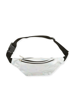 Mirrored Metallic Fanny Pack - 1126067442007