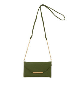 Convertible Crossbody Bag in Faux Leather - 1126067446144
