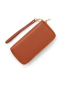 Double Zip Wristlet Wallet - 1126067446204