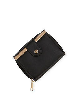 Mini Wallet with Two Compartments - 1126067446233