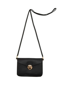 Faux Leather Crossbody Envelope Bag - 1126067447052