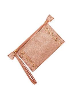 Pierced Glitter Wristlet - 1126067447115