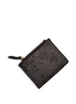 Mini Velvet Bifold Wallet - 1126067447125