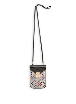 Bedazzled Crossbody Cellphone Pouch - 1126067448008