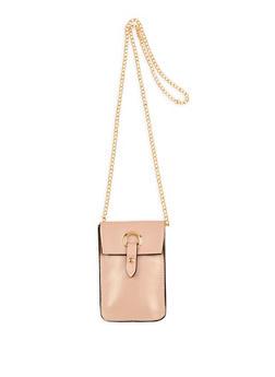 Metallic Ring Detail Crossbody Bag - 1126067448009
