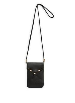 Faux Pearl Mini Crossbody Bag - 1126067448018