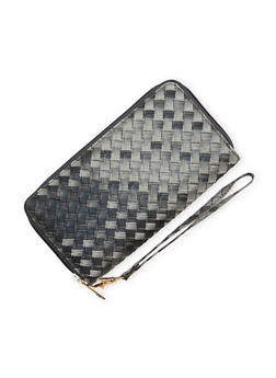 Continental Wallet with Embossed Exterior - 1126073409770