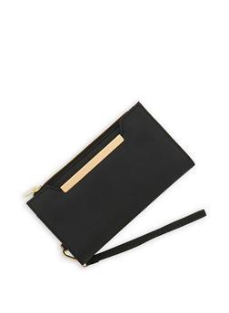 Magnetic Snap Bi Fold Wallet - 1126073896038