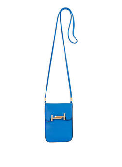 Metallic Detail Crossbody Bag - 1126073896115