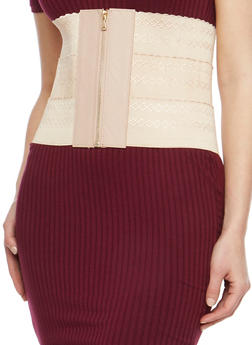 Wide Waist Stretch Belt - 1128041654399