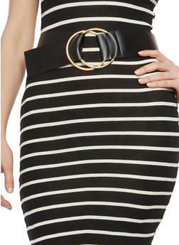 Double Ring Buckle Belt - 1128052802101