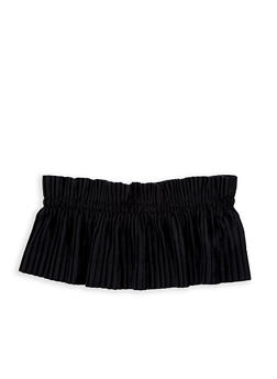 Pleated Velvet Waist Belt - 1128066921775