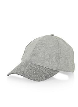 Marled Knit Baseball Hat - 1129041658461