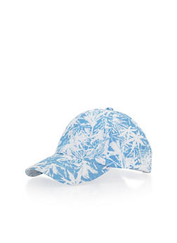 Tropical Print Baseball Cap - 1129067440400