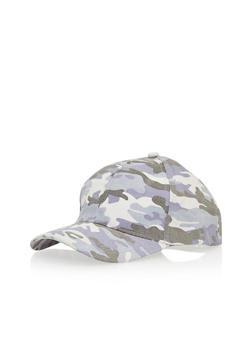 Camouflage Baseball Cap - LILAC - 1129067447028